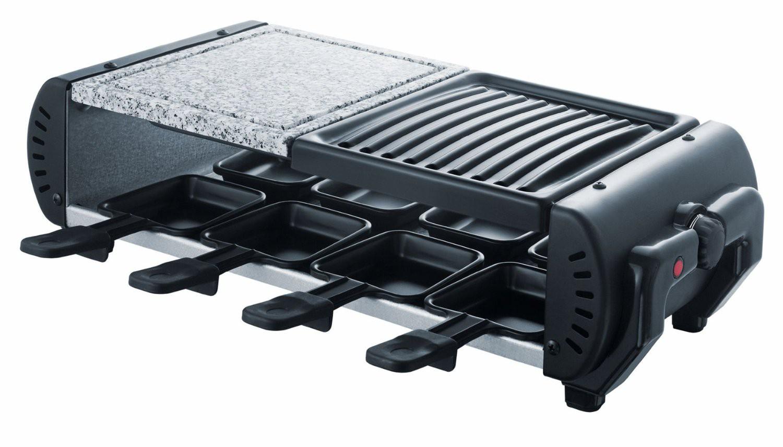 diamond 3 in 1 raclette grill 8 personen heisser stein naturstein tisch grill ebay. Black Bedroom Furniture Sets. Home Design Ideas