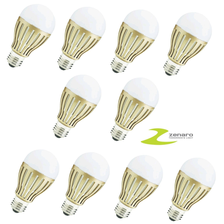 led leuchtmittel 10x e27 5000k baumarkt haus wohnen gl hbirnen leuchtmittel. Black Bedroom Furniture Sets. Home Design Ideas