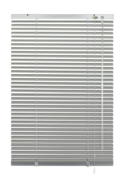 aluminium jalousie alu lamellen fenster t r rollo jalousette klemmfix rolladen ebay. Black Bedroom Furniture Sets. Home Design Ideas