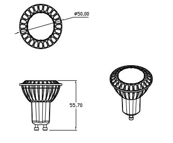led leuchtmittel 5x gu10 5000k baumarkt haus wohnen gl hbirnen leuchtmittel. Black Bedroom Furniture Sets. Home Design Ideas