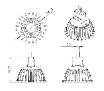 zenaro 5x led gu 5 3 mr16 strahler spot lampe leuchte 5000k leuchtmittel leds ebay. Black Bedroom Furniture Sets. Home Design Ideas