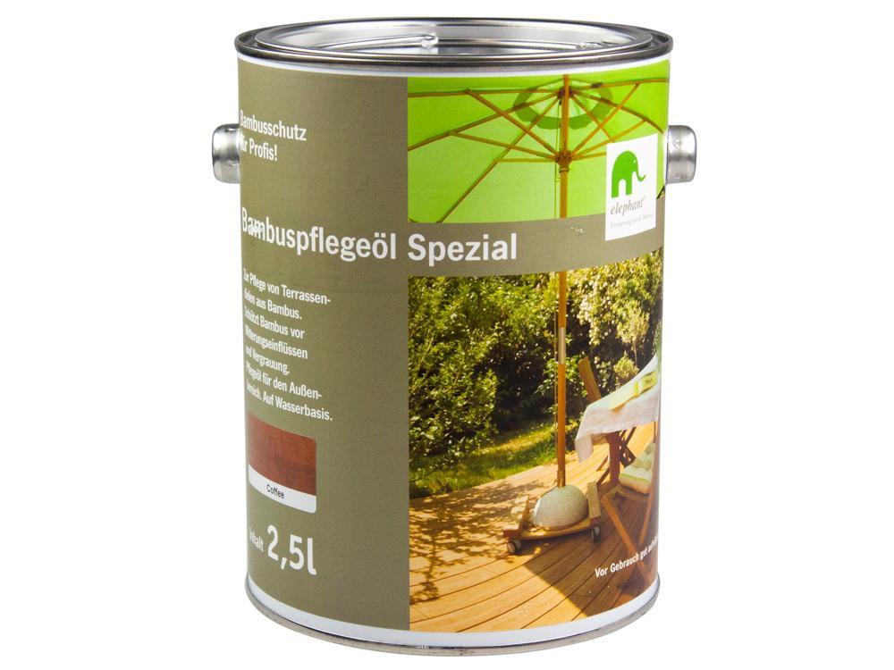elephant bambus pflege l spezial f r cobam terrassendielen coffee 2 5 l baumarkt garten. Black Bedroom Furniture Sets. Home Design Ideas